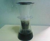 iwaki ウォータードリップコーヒーサーバー・抽出完了